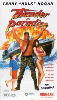Thunder in Paradise poster
