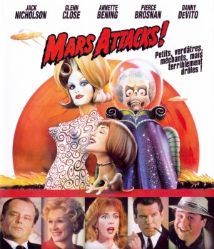 Mars Attacks! Blu-ray cover