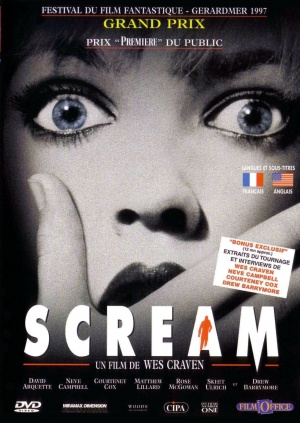Scream Dvd cover
