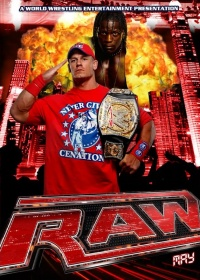 WWE Monday Night RAW poster