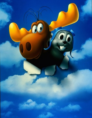 The Adventures of Rocky & Bullwinkle Key art
