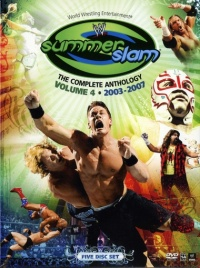WWE Summerslam: The Complete Anthology, Vol. 4 poster