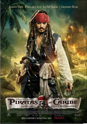 Pirates of the Caribbean: On Stranger Tides 513x729