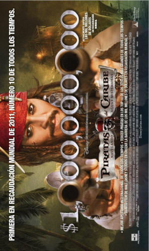 Pirates of the Caribbean: On Stranger Tides 628x1052