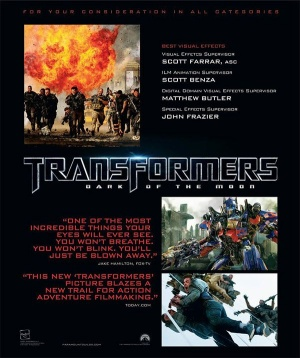 Transformers: Dark of the Moon 600x715