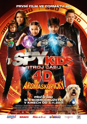 Spy Kids 4: All the Time in the World 3521x5000