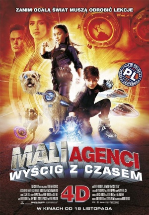 Spy Kids 4: All the Time in the World 617x888