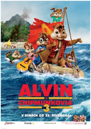 Alvin and the Chipmunks: Chipwrecked 3527x5000