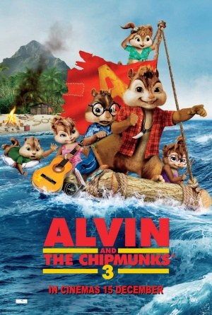 Alvin and the Chipmunks: Chipwrecked 691x1024