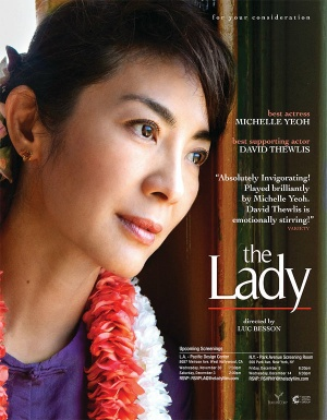 The Lady For your consideration poster