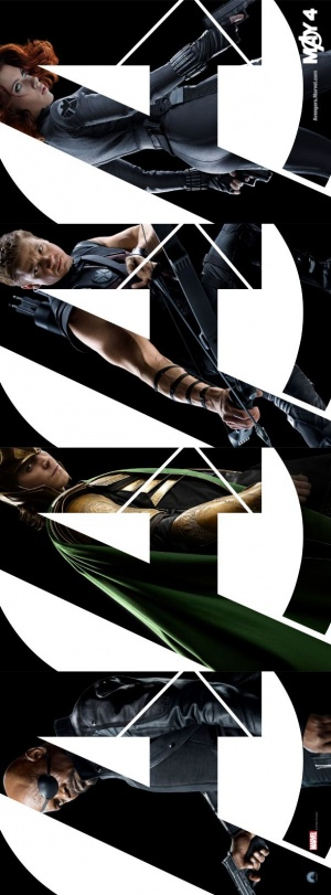 The Avengers 610x1650