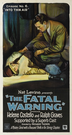The Fatal Warning Poster
