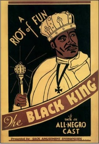 The Black King poster