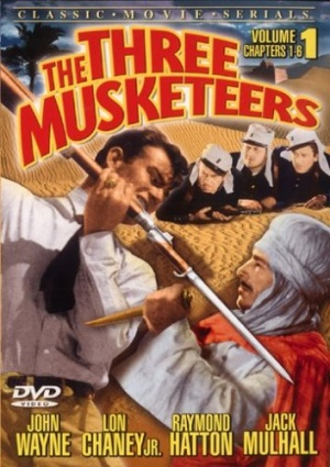 The Three Musketeers Dvd cover