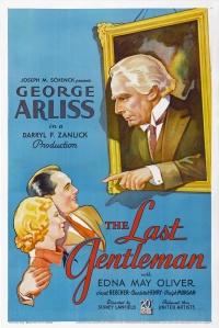 The Last Gentleman poster