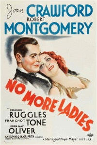 No More Ladies poster