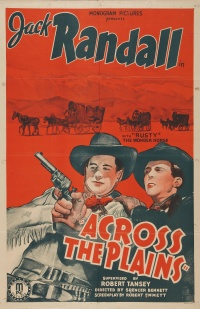 Across the Plains poster