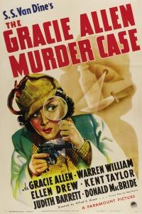 The Gracie Allen Murder Case poster