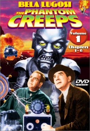 The Phantom Creeps Dvd cover
