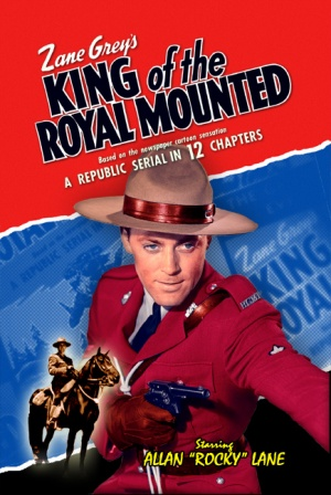 King of the Royal Mounted Dvd cover