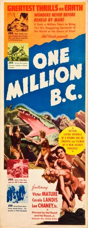 One Million B.C. 1164x3000