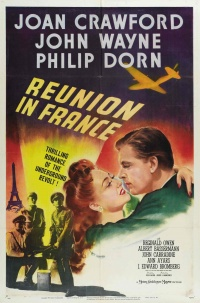 Reunion in France poster