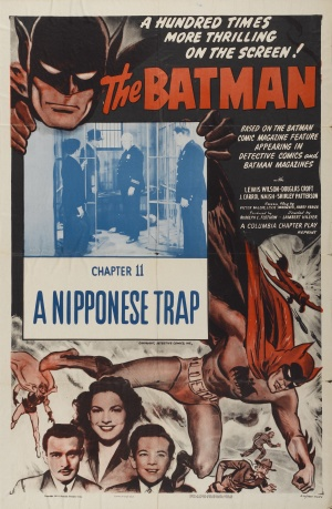 The Batman Re-release poster