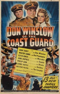 Don Winslow of the Coast Guard poster