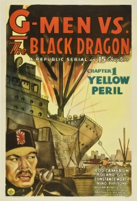 G-Men vs. The Black Dragon poster