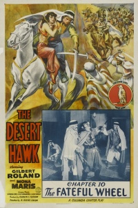 The Desert Hawk poster