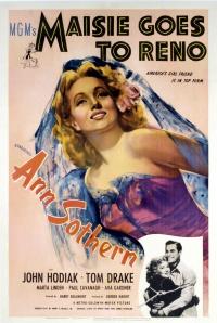 Maisie Goes to Reno poster