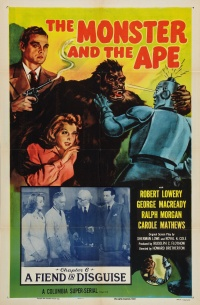 The Monster and the Ape poster