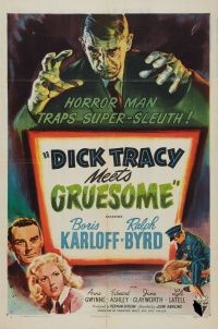 Dick Tracy Meets Gruesome poster