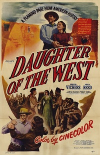 Daughter of the West poster