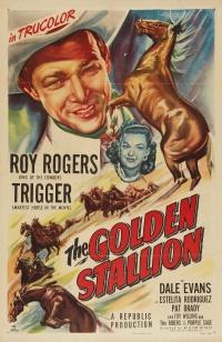 The Golden Stallion poster