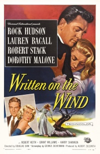 Written on the Wind poster