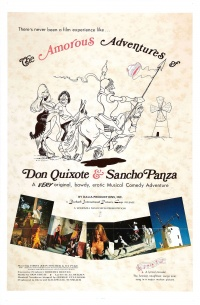 The Amorous Adventures of Don Quixote and Sancho Panza poster