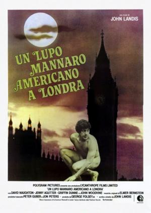 Un hombre lobo americano en Londres 632x893