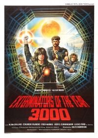 Exterminators in the Year 3000 poster
