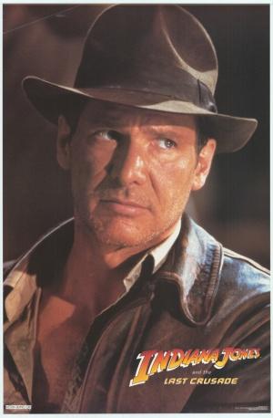 Indiana Jones and the Last Crusade 580x885