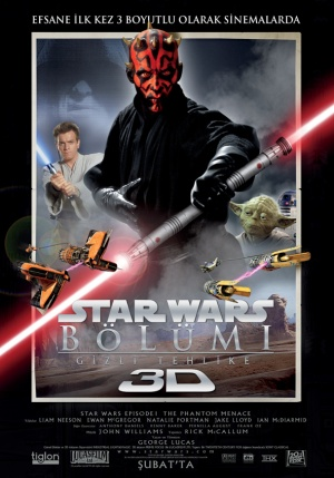 Star Wars: Episodio I - La amenaza fantasma 591x845