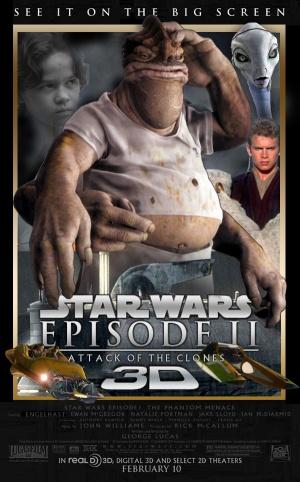 Star Wars: Episodio II - El ataque de los clones 600x963