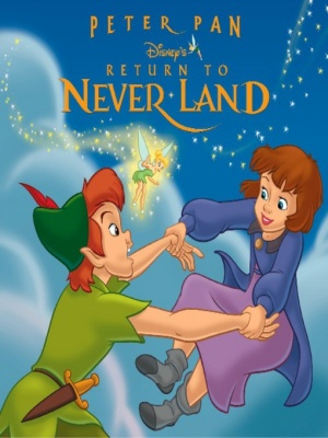Return to Never Land Dvd cover
