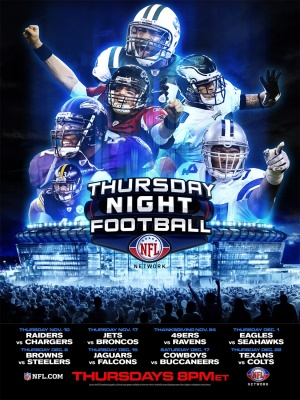 NFL Thursday Night Football 1125x1500