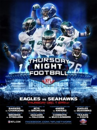 NFL Thursday Night Football poster