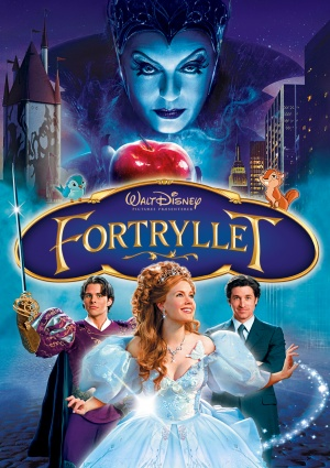 Enchanted Dvd cover