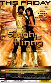 Singh Is King poster