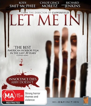 Let Me In Blu-ray cover