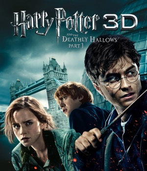 Harry Potter and the Deathly Hallows: Part I Blu-ray cover
