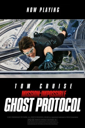 Mission: Impossible - Ghost Protocol 600x900
